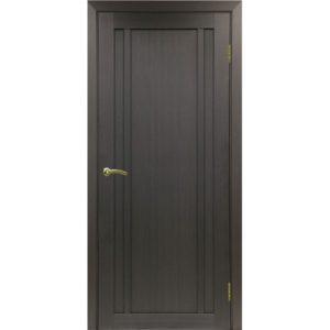 Межкомнатная дверь Optima Porte Турин 522.111 (венге, глухая)