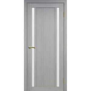 Межкомнатная дверь Optima Porte Турин 522.212 (дуб серый, остеклённая)