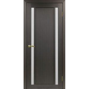 Межкомнатная дверь Optima Porte Турин 522.212 (венге, остеклённая)