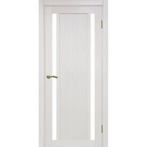 Межкомнатная дверь Optima Porte Турин 522.212 (ясень перламутровый, остеклённая)