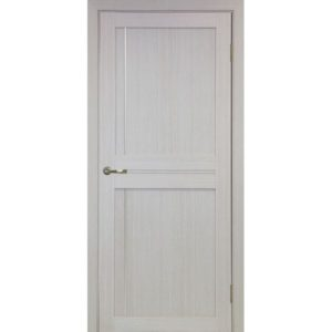 Межкомнатная дверь Optima Porte Турин 523.111 (АПП молдинг SC, дуб белёный, глухая)