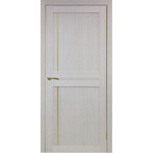 Межкомнатная дверь Optima Porte Турин 523.111 (АПП молдинг SG, дуб белёный, глухая)