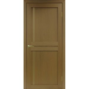 Межкомнатная дверь Optima Porte Турин 523.111 (АПП молдинг SG, орех, глухая)