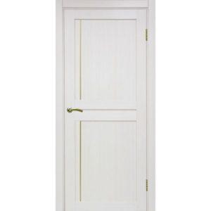 Межкомнатная дверь Optima Porte Турин 523.111 (АПП молдинг SG, ясень перламутровый, глухая)