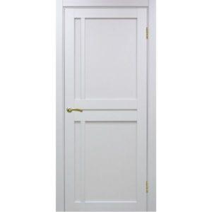 Межкомнатная дверь Optima Porte Турин 523.111 (белый монохром, глухая)