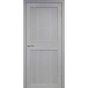 Межкомнатная дверь Optima Porte Турин 523.111 (дуб серый, глухая)
