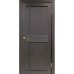 Межкомнатная дверь Optima Porte Турин 523.111 (венге, глухая)