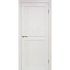 Межкомнатная дверь Optima Porte Турин 523.111 (ясень перламутровый, глухая)