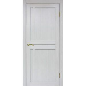 Межкомнатная дверь Optima Porte Турин 523.111 (ясень серебристый, глухая)