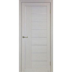 Межкомнатная дверь Optima Porte Турин 524 (АПП молдинг SC, дуб белёный, глухая)