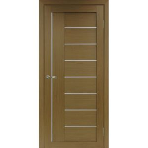 Межкомнатная дверь Optima Porte Турин 524 (АПП молдинг SC, орех, глухая)