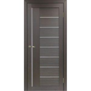 Межкомнатная дверь Optima Porte Турин 524 (АПП молдинг SC, венге, глухая)