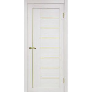 Межкомнатная дверь Optima Porte Турин 524 (АПП молдинг SG, ясень перламутровый, глухая)