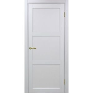 Межкомнатная дверь Optima Porte Турин 530.111 (белый монохром, глухая)