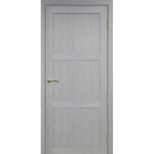 Межкомнатная дверь Optima Porte Турин 530.111 (дуб серый, глухая)