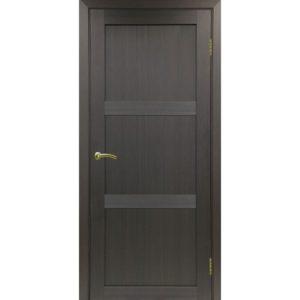 Межкомнатная дверь Optima Porte Турин 530.111 (венге, глухая)