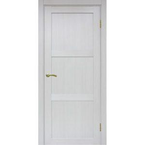 Межкомнатная дверь Optima Porte Турин 530.111 (ясень серебристый, глухая)