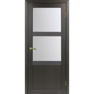 Межкомнатная дверь Optima Porte Турин 530.221 (венге, остеклённая)