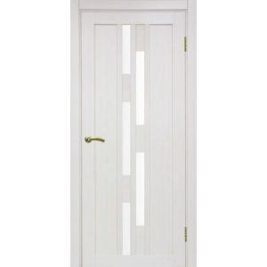 Межкомнатная дверь Optima Porte Турин 551.111 (ясень перламутровый, остеклённая)