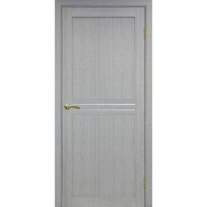Межкомнатная дверь Optima Porte Турин 552 (дуб серый, остеклённая)