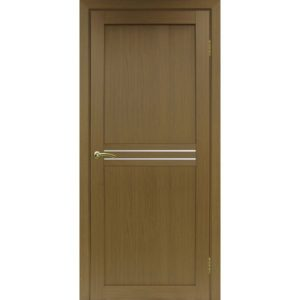 Межкомнатная дверь Optima Porte Турин 552 (орех, остеклённая)