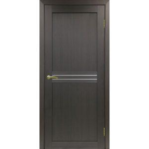 Межкомнатная дверь Optima Porte Турин 552 (венге, остеклённая)