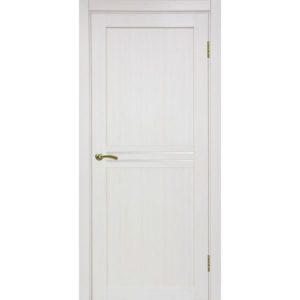 Межкомнатная дверь Optima Porte Турин 552 (ясень перламутровый, остеклённая)