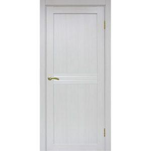 Межкомнатная дверь Optima Porte Турин 552 (ясень серебристый, остеклённая)