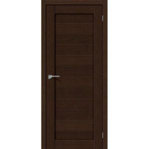 Межкомнатная дверь Порта-21 (3D Wenge, глухая)