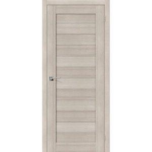 Межкомнатная дверь Порта-21 (Cappuccino Veralinga, глухая)