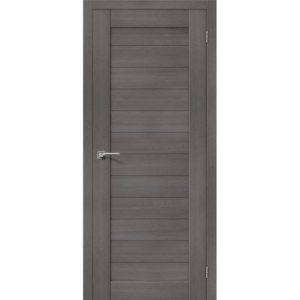 Межкомнатная дверь Порта-21 (Grey Veralinga, глухая)