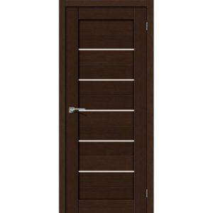 Межкомнатная дверь Порта-22 (3D Wenge, остеклённая)