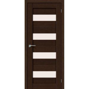 Межкомнатная дверь Порта-23 (3D Wenge, остеклённая)