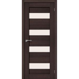 Межкомнатная дверь Порта-23 (Wenge Veralinga, остеклённая)