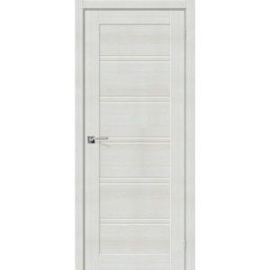 Межкомнатная дверь Порта-28 (Bianco Veralinga, остеклённая)