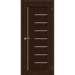 Межкомнатная дверь Порта-29 (3D Wenge, остеклённая)
