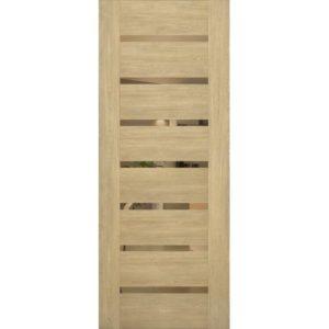 Межкомнатная дверь Schlager Mistral by Provence 2B (дуб натуральный, остеклённая)