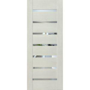 Межкомнатная дверь Schlager Mistral by Provence 2Z (софт белый, остеклённая)