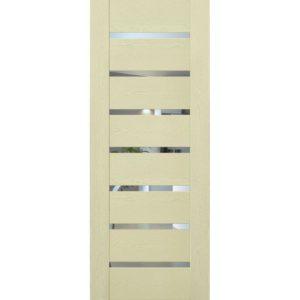 Межкомнатная дверь Schlager Mistral by Provence 2Z (ясень патина, остеклённая)