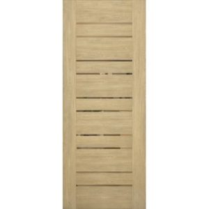 Межкомнатная дверь Schlager Mistral by Provence 3B (дуб натуральный, остеклённая)