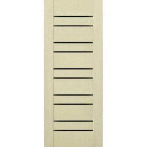 Межкомнатная дверь Schlager Mistral by Provence 3L (ясень патина, остеклённая)