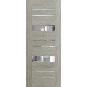 Межкомнатная дверь Schlager Mistral by Provence 4Z (дуб седой, остеклённая)