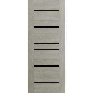 Межкомнатная дверь Schlager Mistral by Provence 5L (дуб седой, остеклённая)