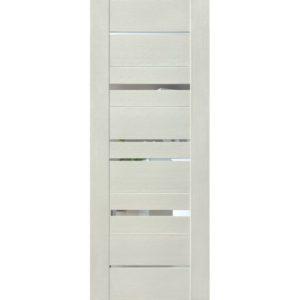 Межкомнатная дверь Schlager Mistral by Provence 5Z (софт белый, остеклённая)