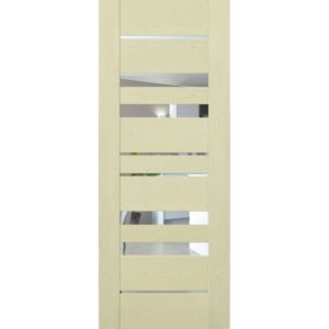 Межкомнатная дверь Schlager Mistral by Provence 6Z (ясень патина, остеклённая)