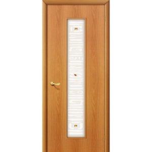 Ламинированная межкомнатная дверь Bravo 25Х (Миланский Орех, остеклённая, Фьюзинг)