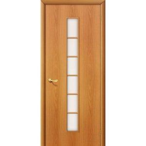 Ламинированная межкомнатная дверь Bravo 2С (Миланский Орех, остеклённая, Сатинато)