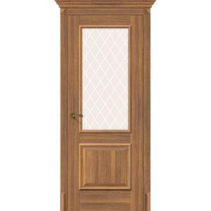 Межкомнатная дверь Классико-13 (Golden Reef, остеклённая)