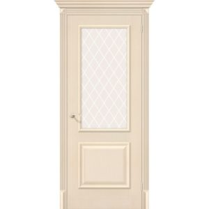 Межкомнатная дверь Классико-13 (Ivory, остеклённая)