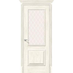 Межкомнатная дверь Классико-13 (Nordic Oak, остеклённая)